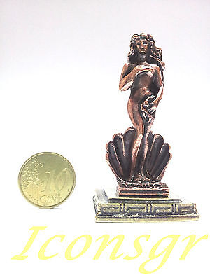 Ancient Greek Olympian God Miniature Sculpture Statue Zamac Aphrodite Venus C