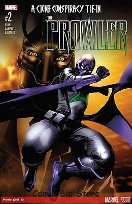 Prowler #2 (2016) 1St Printing Clone Conspiracy