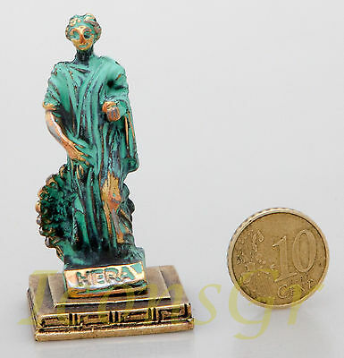 Ancient Greek Olympian God Miniature Sculpture Statue Zamac Hera Queen Of Gods