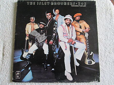 "The Isley Brothers 12"" Gatefold Stereo Vinyl LP 3 + 3 1973"