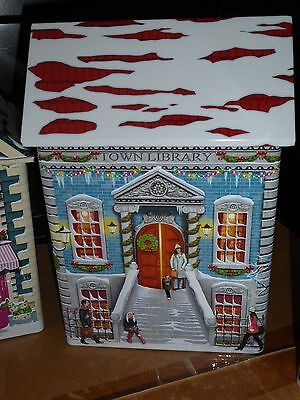 Harry London Chocolate Tin New Town Library