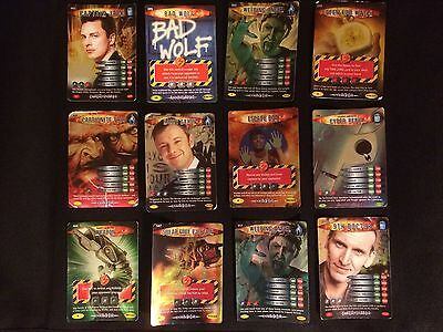 Dr Who Battles In Time - Rare Cards Bundle