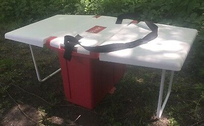 1997 Limited Coleman Basic Combination Cooler Table Conversion w/Thermo Liner