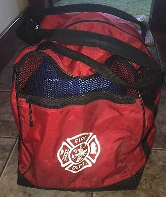 """Galls Fire Fighter Jumbo Sized Step In Bag 16"""" deep x 19"""" wide x 20"""" tall"""