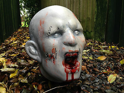 Zombie HEAD 3D Archery Target NEW! Splattered in Blood Superb to Shoot!