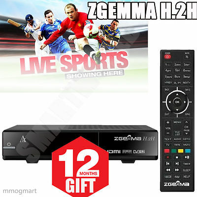 2016 ZGEMMA H.2S Twin Tuner + 12 Month Gift + KODI + Fast And Free Shipping