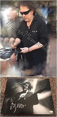 Robert Smith Signed Autographed The Cure 11x14 Coa Rare