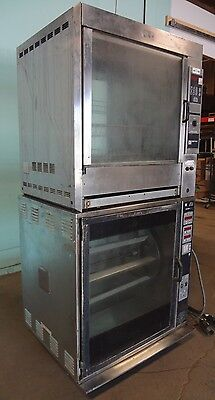 """Hd Commercial """"henny Penny"""" Digital Scr-8 Dbl. Stack Chicken/rib Rotisserie Oven"""