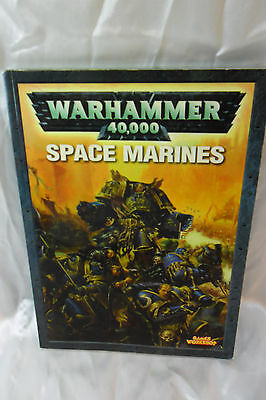 """Warhammer 40,000 """"Space Marines"""" Rule Book ONLY; Softcover Games Workshop"""