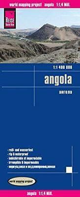 Angola rkh r/v (r) wp GPS by Reise Know-How Verlag | Map Book | 9783831773145 |