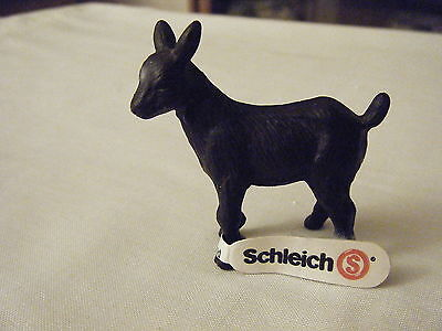 Schleich Black Kid Goat #13620 New With Tag Retired 2001