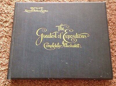 1904 St. Louis World's Fair Hardcover Book THE GREATEST OF EXPOSITIONS