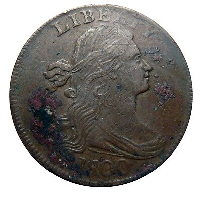 Large cent/penny 1801 in census grade