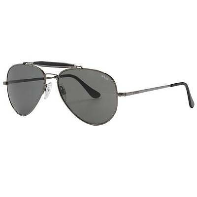 5338e766c9a1 Randolph Engineering Sportsman Aviator 57mm Sunglasses Gunmetal/G PC Made  in USA