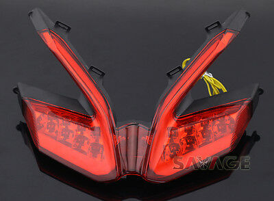 Integrated LED Turn Signal Tail Light Fr Ducati 899 959 1199/S/R 1299 Panigale R