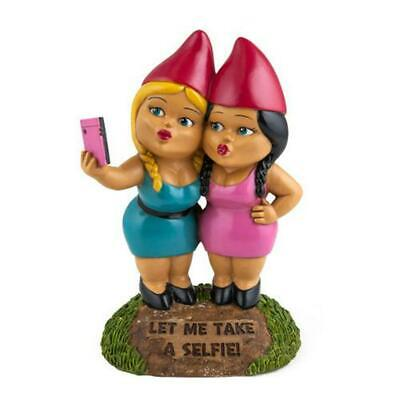 BigMouth Inc The Selfie Sisters Gnome Free Shipping!
