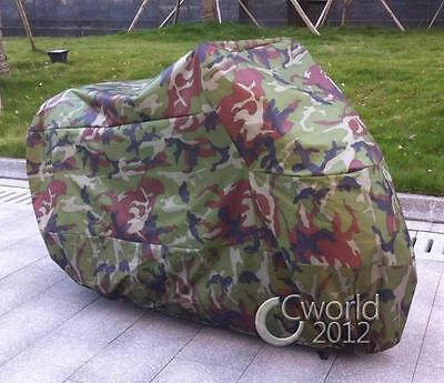 Camo Motorcycle Travel Storage Cover Shelter For Honda CMX 250 450 Rebel Fury