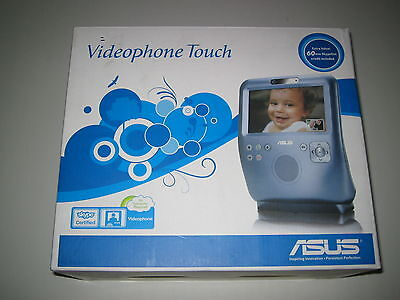 ASUS AiGuru SV1T Videophone Touch Advance Internet Skype Video Phone Silver Blue