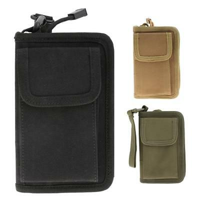 Outdoor Camping Tactical Molle Wallet Card Phone Key Pouch Holder Nylon Pocket