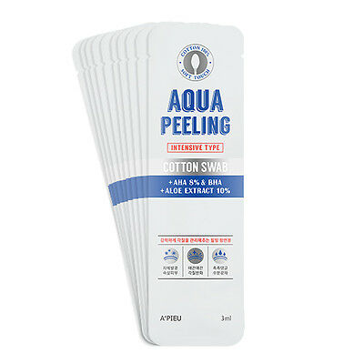 [A'PIEU] Aqua Peeling Cotton Swab Set Intensive 3ml *10ea