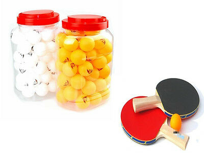 60pcs Table Tennis 40MM Olympic Ping Pong Balls Orange Indoor Games Sports Toy