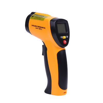 Handheld Infrared Thermometer Digital LCD Non-Contact IR Laser Temperature 12:1