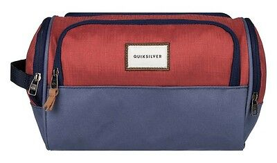 Quiksilver Capsule One Size Barn Red Neceseres