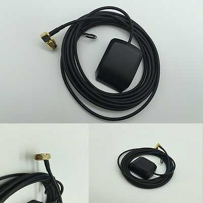 New 28dB LNA Gain 1575.42MHz Male SMA Male GPS Active Antenna Stronger Singal