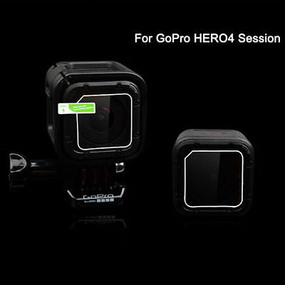 HD LCD Lens Screen Protective Film Guard Cover For GoPro Hero4 Session Camera