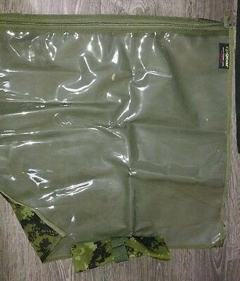canadian army cp gear tactical map case military NEW