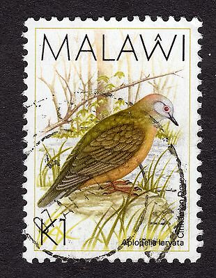 1988 Malawi Birds Lemon Dove 1K SG 801 FINE Used R30047