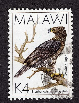 1988 Malawi Birds Croned eagle K4 SG 803 FINE Used R30059