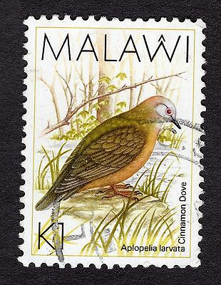 1988 Malawi Birds Lemon Dove 1K SG 801 FINE Used R30048