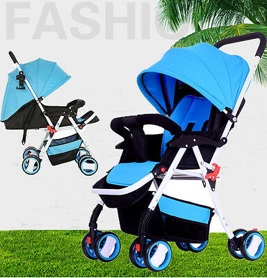 Newborn Baby Stroller Pram Kid Toddler Child Jogger Bassinet Wheel Seat