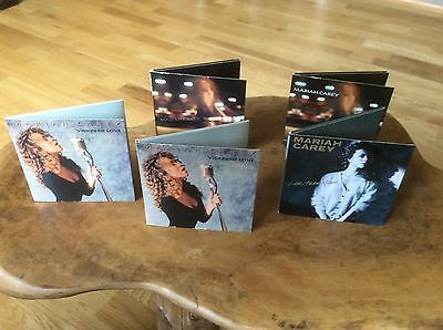 """Mariah Carey - Vision Of Love / Someday / Love Takes Time - 3"""" Cd Collection"""