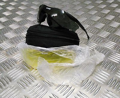 Genuine British Army Issued ESS ICE  Ballistic / Tactical Safety Sun Glasses