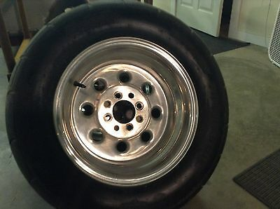 weld lite wheels rims with tires mustang fox body 5.0 notchback mikey thompson