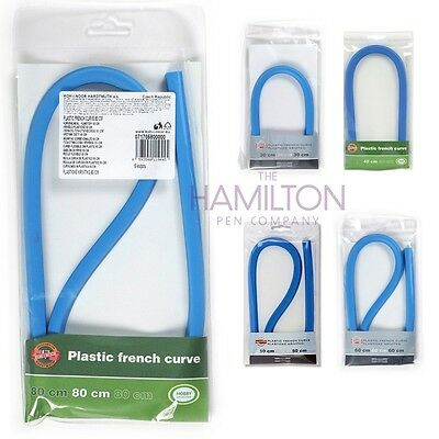 KOH-I-NOOR FRENCH CURVE - Flexible plastic in a choice of convenient sizes