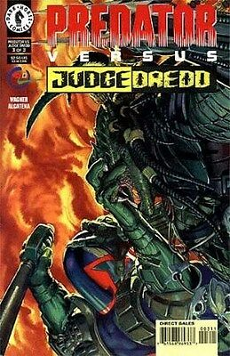 "Comic Dark Horse ""Predator: Versus Judge Dredd'' #3 1997 NM"
