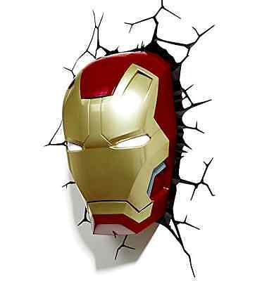 Marvel 3D Led Light Ironman Mask