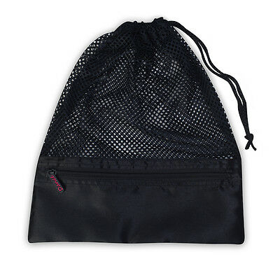 Women's DansBagz by Danshuz Mesh Shoe Bags, Black
