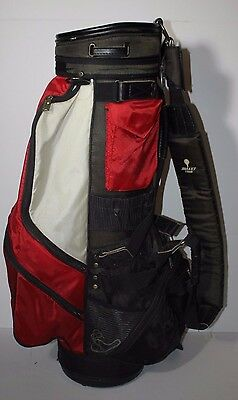 Bullet Tour Golf Bag Black and Red