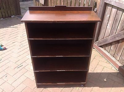 early 20th century bookcase waring and gillow