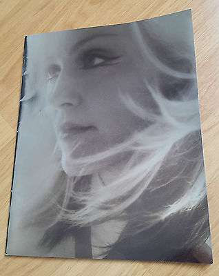 Madonna Drowned World 2001 Tour Programme Book With Concert Ticket & Bag