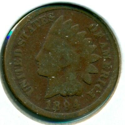 1894 Indian Head Cent, Good, Great Price!