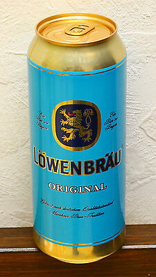Lowenbrau 2015 Russian release 0,5L beer can bottom opened