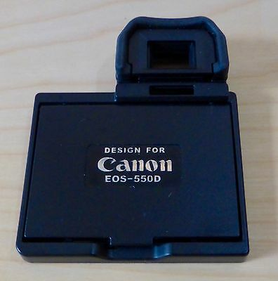 LCD Screen Pop-up Hood Protector for Canon EOS 550D