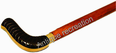 Handle Brass Victorian Designer  Antique Cane Wooden Walking Stick 35""