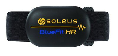 Soleus Bluefit Hr Heart Rate Monitor Chest Strap Bluetooth Enabled New