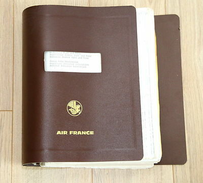 Documents Air France Concorde : Flight Crew Operating Manual Anglais/Francais